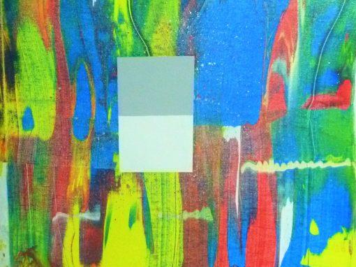 Alquiler, ER entre muchos, acrílico sobre tablero, 61×50